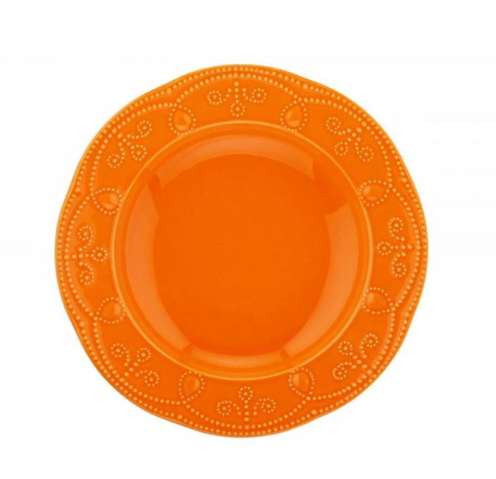 Fulya zupas šķīvis oranžs 24cm