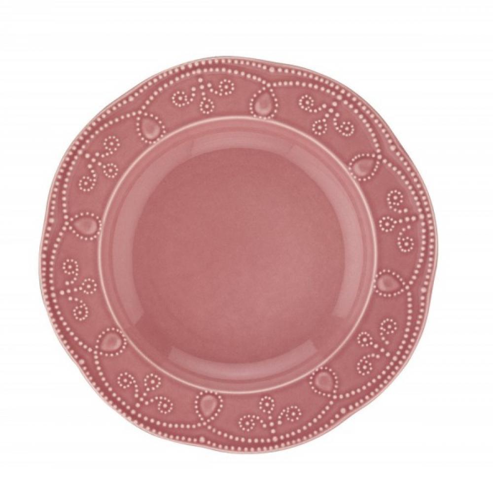 Fulya zupas šķīvis sarkans 24cm