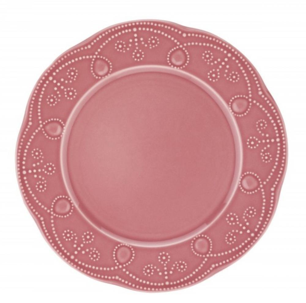 Fulya pusdienu šķīvis sarkans 27cm