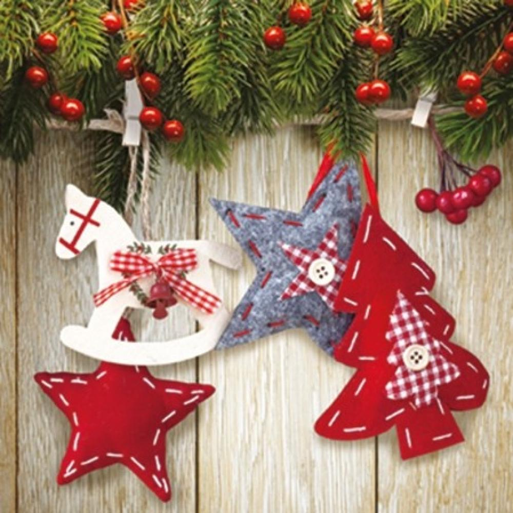 Z salvetes 33x33cm Christmas & stars, Paw Decor Collection