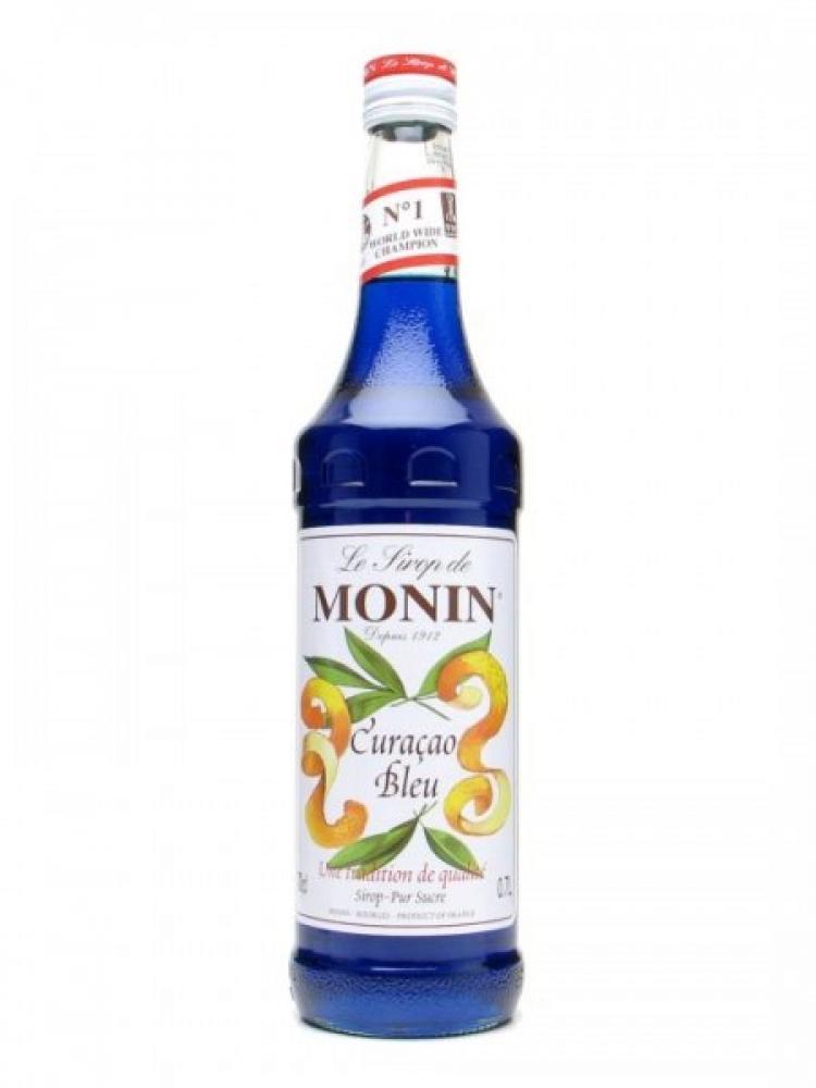 Monin zilais curacao sīrups 0.7L