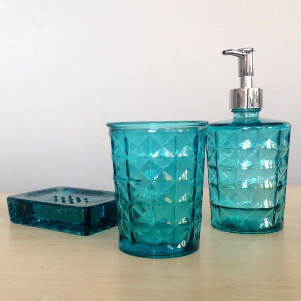 Diama komplekts vannai gaiši zils