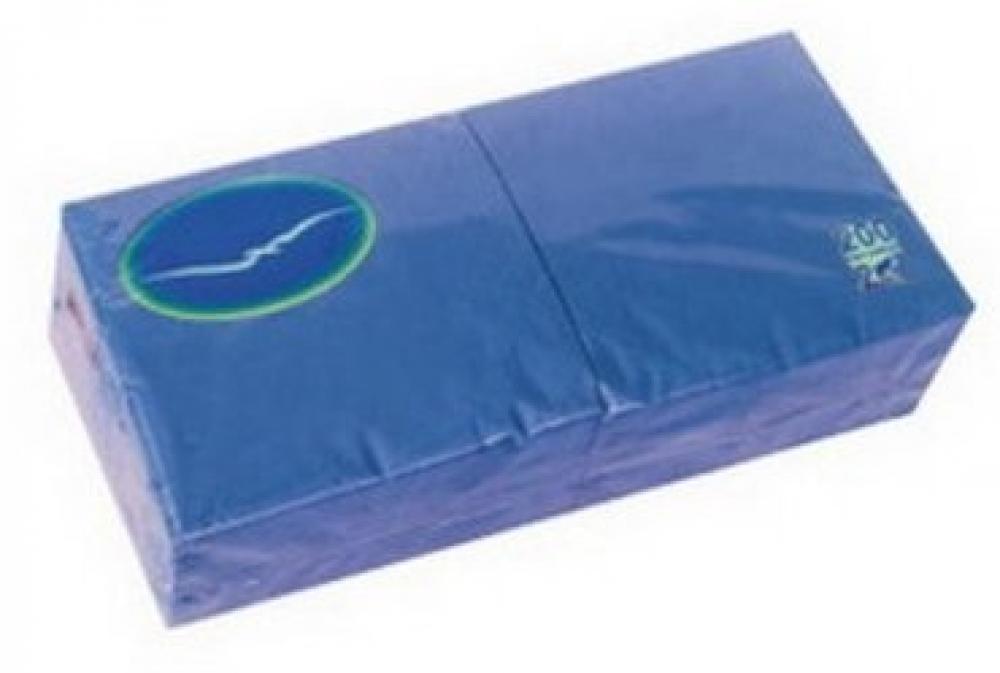 Papīra salvetes 24/2/200gab. zilas