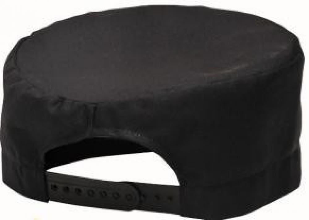 Cepurīte S899, pavāra, melna, L/XL izmērs, Viesnīcu tekstils