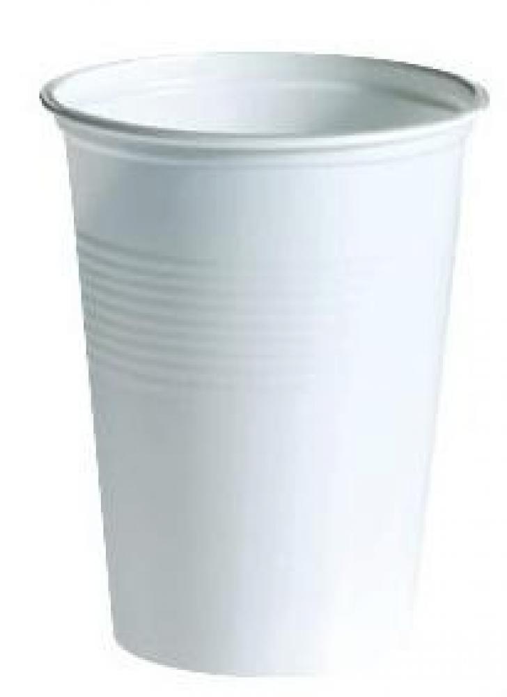 Glāzes 100ml baltas, ps, 100gab. 0.2 kg/iepak., Arkolat