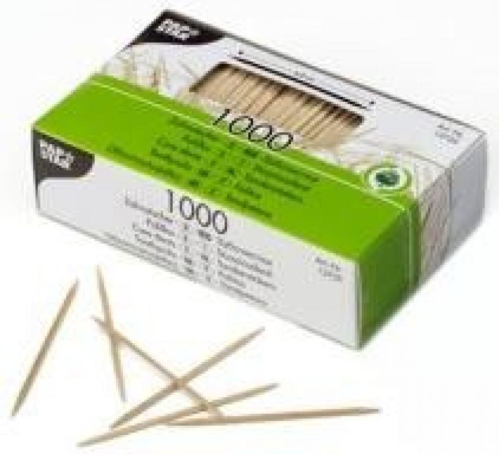Zobu bakstāmie kociņi 1000gab., 6,8cm 0,14kg, koka, Pap Star