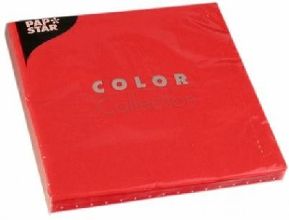 Salvetes 33x33cm, 20gab., sarkanas 0.126 kg / iepak.