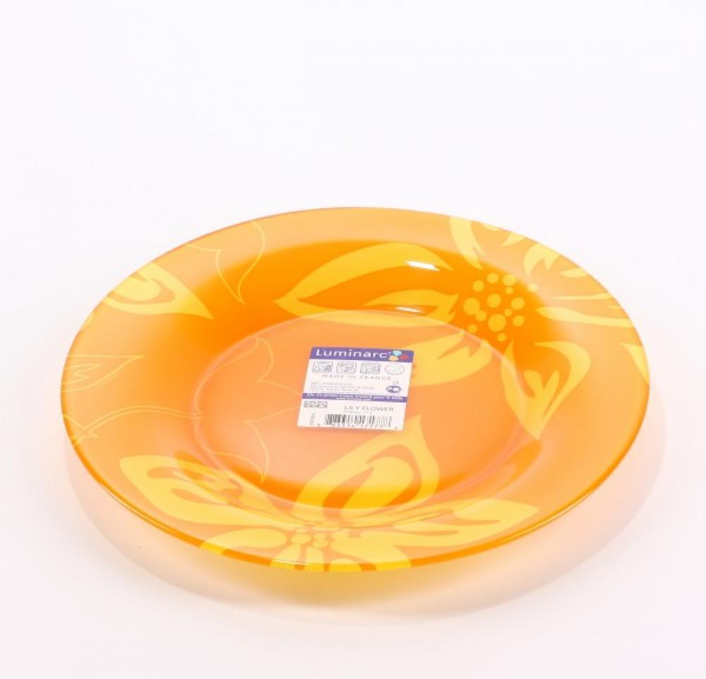 Lily flower deserta šķīvis 19.5cm