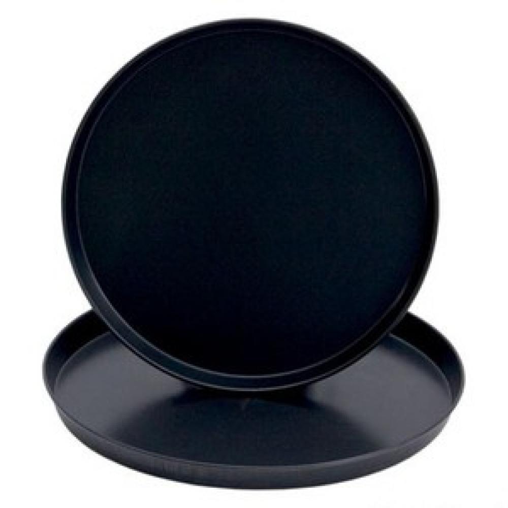 VIESMĪĻU PAPLĀTE ø 40 cm melna