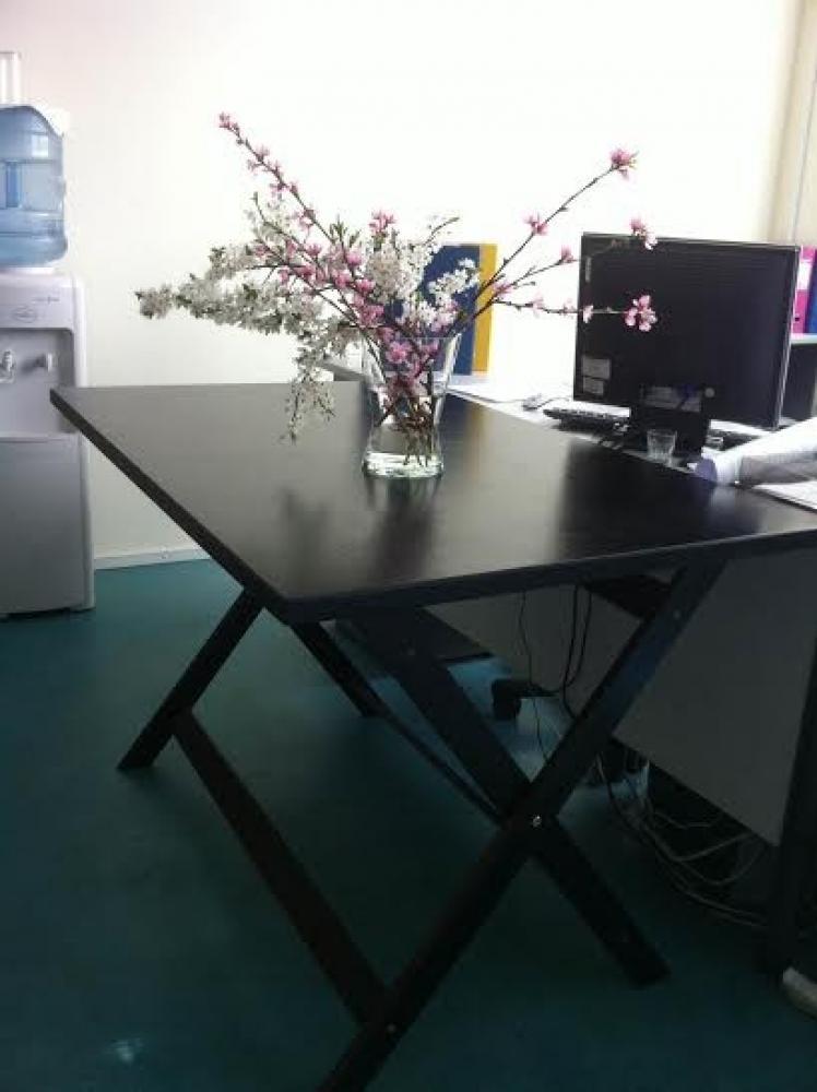 Koka galds, saliekams 80x1.20m